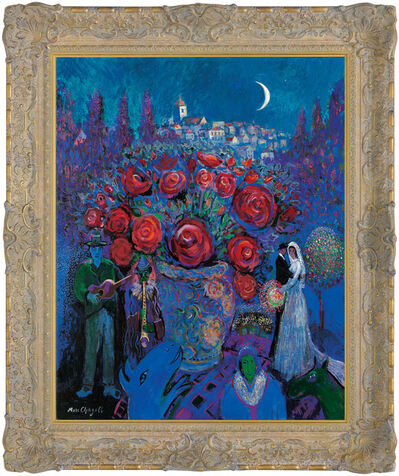 John Myatt, 'Wedding Flowers in the style of Marc Chagall', 2011