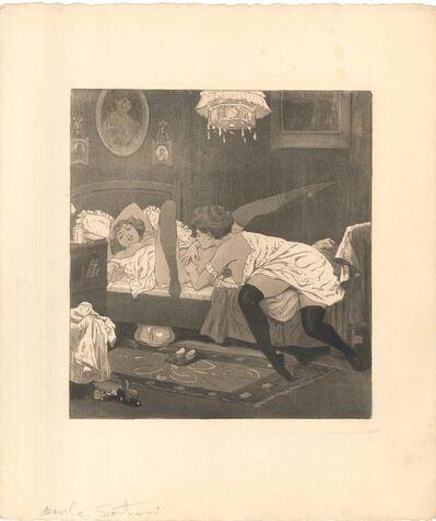 Emil Sartori, 'Erotic Scene X - Illustration', 1907