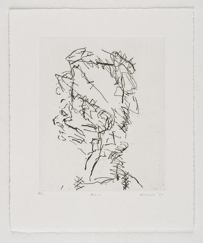 Frank Auerbach, 'Julia', 1989
