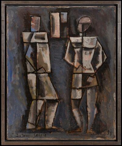 Joaquín Torres-García, 'Dos figuras (Two Figures)', 1930