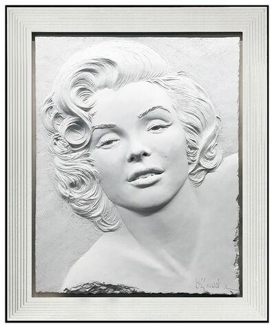 Bill Mack, 'Bill Mack Marilyn Monroe Bonded Sand Sculpture Legend Hand Signed Alto Relief', 1984