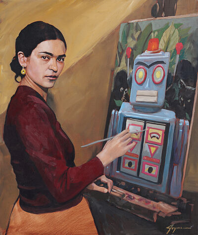 Eric Joyner, 'Frida at Work'