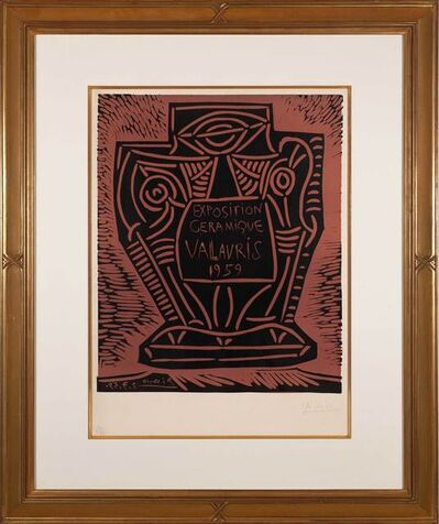 Pablo Picasso, 'Exposition ceramique, Vallauris 1959', 1959
