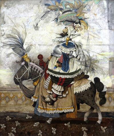 "Daron Mouradian, '""Rider"" / ""Binici""', 2016"