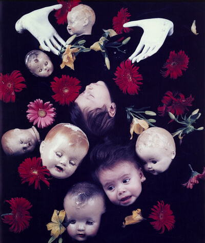 Starr Ockenga, 'Floating Heads with Hands and Flowers', 1984/1984