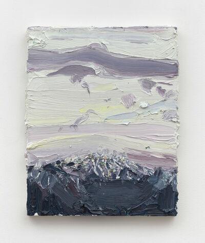 Allison Schulnik, 'San Jacinto Snow, February 2019', 2019