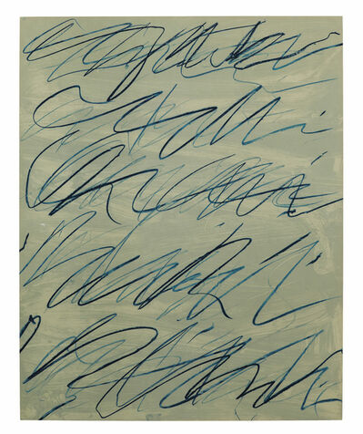 Cy Twombly, 'Roman Notes VI, from Roman Notes', 1970