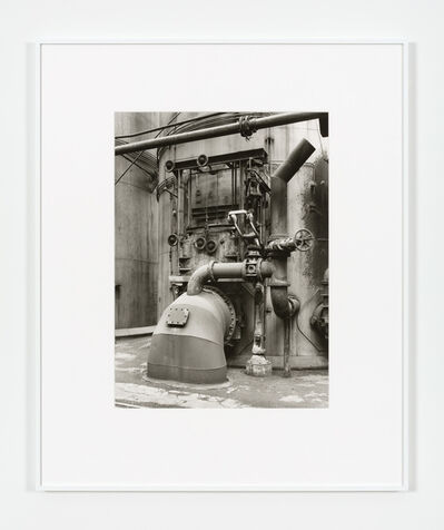 Bernd and Hilla Becher, 'Detail Blast Furnace, Diffedange', 1983
