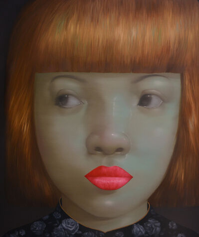 Attasit Pokpong, 'Girl with the Golden Hair', 2014