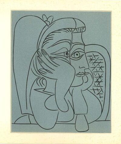 Pablo Picasso, 'Femme Accoudée ', 1962