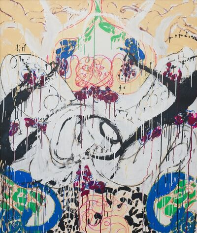Norman Bluhm, 'Fresco #14', 1987