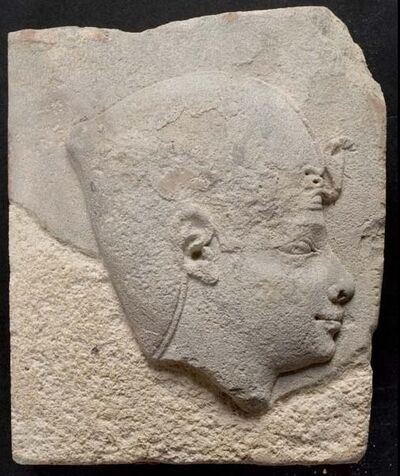 Unknown Artist, 'Sculptor's Model, Head in Profile', XVIII Dynasty