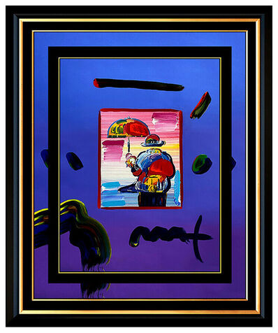 Peter Max, 'UMBRELLA MAN ORIGINAL', 2009