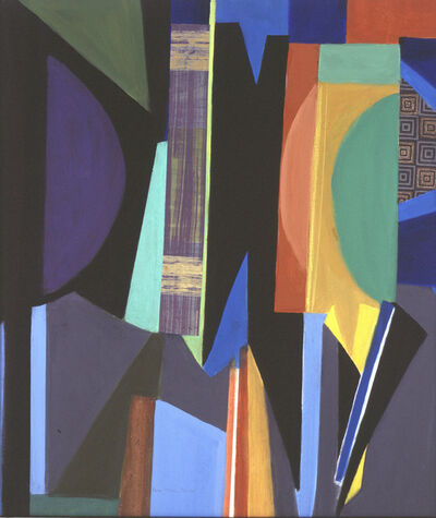 Roz Karol Ablow, 'City Abstraction'