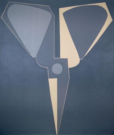 Mao Xuhui 毛旭辉, 'Outline, Black-grey Scissors, Upside-down ', 2008
