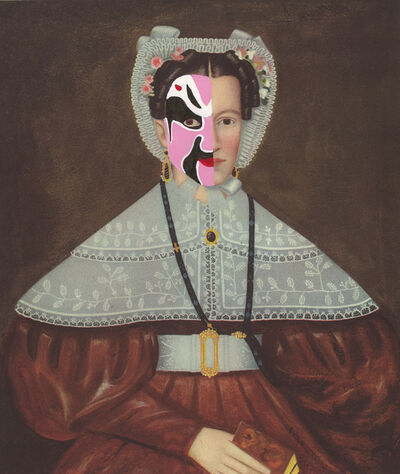 Kirsten Stolle, 'Mrs. William Barnes 1841/2014', 2014