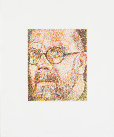 Chuck Close, 'Self-Portrait/Scribble/Etching', 2000