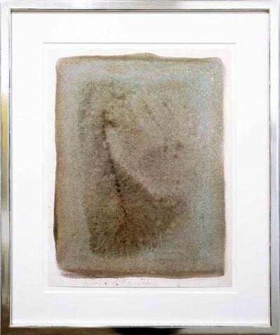 Gotthard Graubner, 'Ohne Titel türkis-grau', 1971