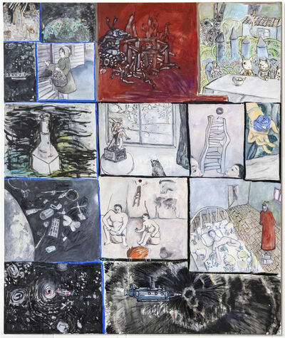 Sun Wang, 'Interlaced Spacetime', 2019