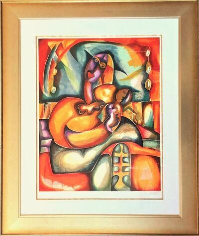 Alexandra Nechita, 'Mama's Lullaby (Parade Suite) - Limited Edition Lithograph by Alexandra Nechita ', 2002