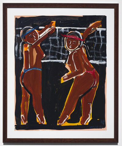 Monica Kim Garza, 'Night Volleyball', 2018