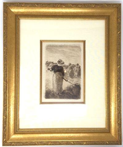 Camille Pissarro, 'Les Faneuses (Haymakers)', Delteil 94-c. 1890