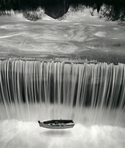 Jerry Uelsmann, 'Untitled (Boat in Waterfall)', 1997