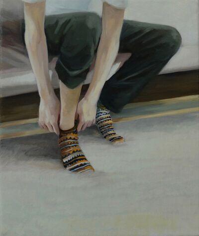Grace O'Connor, 'Disrupted stripe', 2015