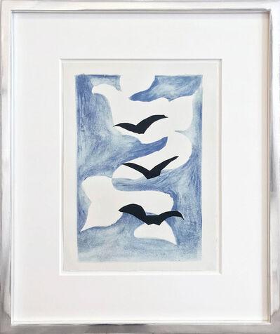 Georges Braque, 'Drei Vögel mit blauem Himmel', 1958