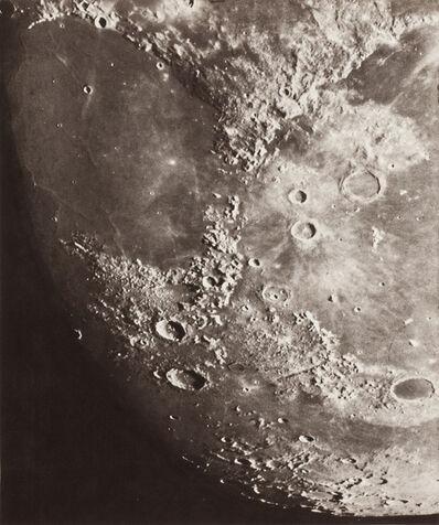 Loewy et Puiseux, 'Photographie Lunaire: Mer de la Sérénité - Archimède - Platon', 1894