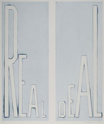 Ed Ruscha, 'Real Deal', 2014