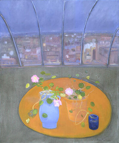 Jane Freilicher, 'Nasturtiums and Petunias II', 2003