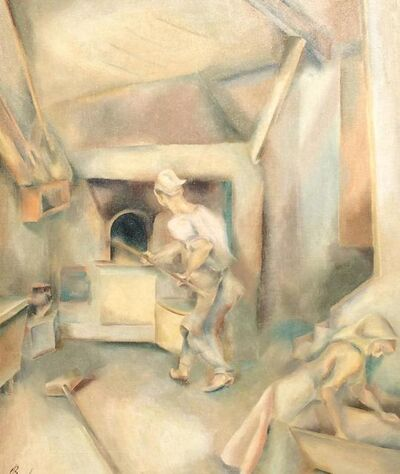 John Barber, 'Bread Bakers', ca. 1930