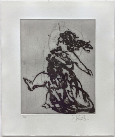 William Kentridge, 'Lady (Xeno at 2am)', 2001