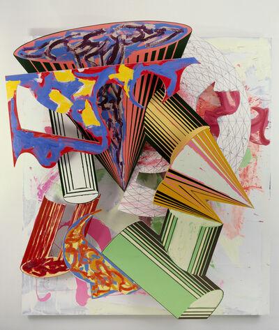 Frank Stella, 'Gobba, zoppa e collotorto', 1985
