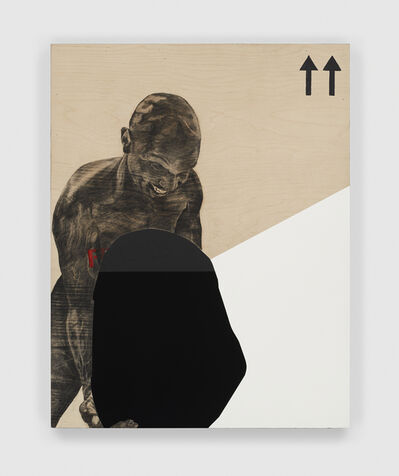 Serge Alain Nitegeka, 'Migrant: Studio study X', 2020