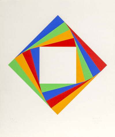 Max Bill, 'Diamond', 1972