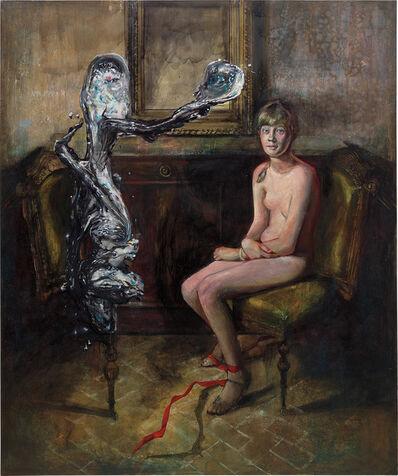Martin Eder, 'Die Stimme aus Metall', 2003