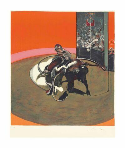 Francis Bacon, 'Étude pour une corrida', 1971
