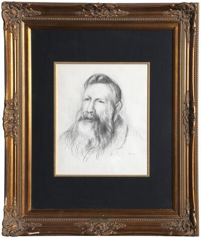 Pierre-Auguste Renoir, 'Portrait of Rodin ', ca. 1910
