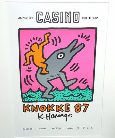 Keith Haring, 'Casino Knokke 87', 1987