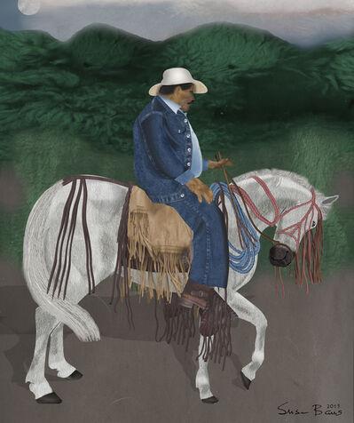 Susan Baus, 'Dancing Horse -- San Juan del Sur, Nicaragua', 2015