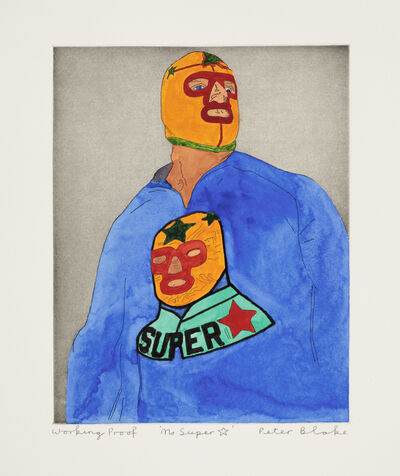 Peter Blake, 'Ms Super Star', 2010