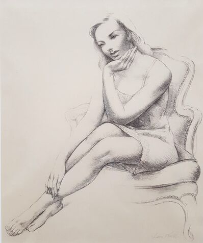 Leon Kroll, 'Monique', 1945