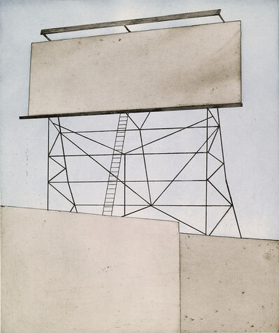 Ed Ruscha, 'Your Space on Building', 2006
