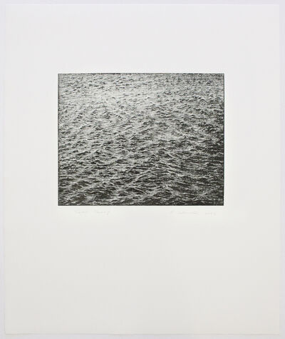 Vija Celmins, 'Ocean Surface Wood Engraving 2000', 2000