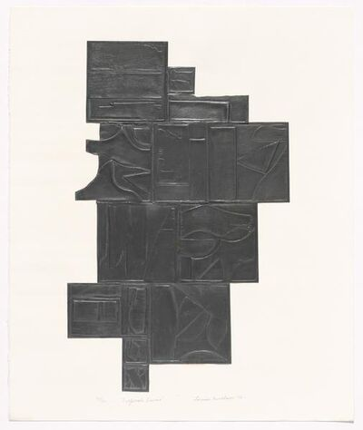 Louise Nevelson, 'Tropical Leaves', 1972