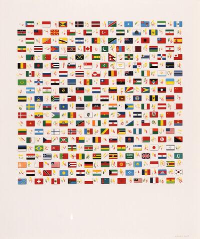 Michel Goulet, 'Territoires : Les cibles', 2000