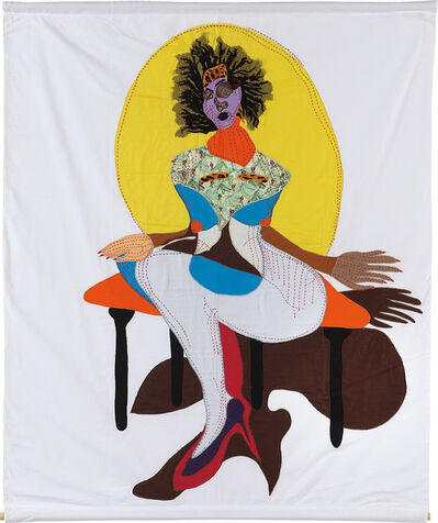 Tschabalala Self, 'Princess', 2018