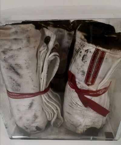 Bernard Aubertin, 'Burned jeans/Jeans bruciati', 2011